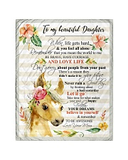 """Gift For Daughter - To My Daughter Horse Quilt 40""""x50"""" - Baby thumbnail"""