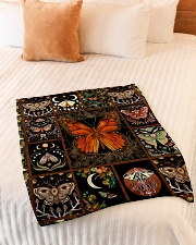 "Gift For Butterfly Lovers Small Fleece Blanket - 30"" x 40"" aos-coral-fleece-blanket-30x40-lifestyle-front-01"