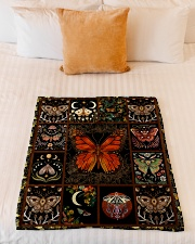 "Gift For Butterfly Lovers Small Fleece Blanket - 30"" x 40"" aos-coral-fleece-blanket-30x40-lifestyle-front-04"