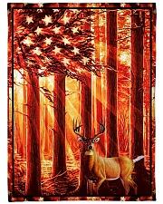 Gift For Hunter - Deer Gift Fleece Blanket tile