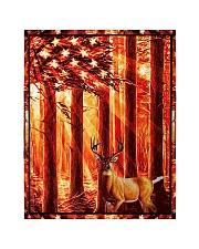 """Gift For Hunter - Deer Gift Quilt 40""""x50"""" - Baby thumbnail"""
