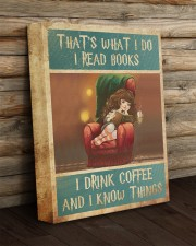 That's What I Do I Read Books - I Drink Coffee And 11x14 Gallery Wrapped Canvas Prints aos-canvas-pgw-11x14-lifestyle-front-19