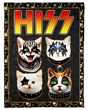 """Hizz Kiss Cat - Perfect Gift For Fans Small Fleece Blanket - 30"""" x 40"""" front"""