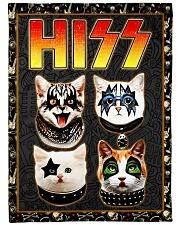 Hizz Kiss Cat - Perfect Gift For Fans Fleece Blanket tile