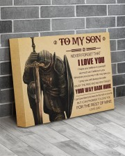 Gift For Son - To My Son Knight 14x11 Gallery Wrapped Canvas Prints aos-canvas-pgw-14x11-lifestyle-front-12