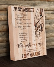 Gift For Daughter - To My Daughter I Love 3000 11x14 Gallery Wrapped Canvas Prints aos-canvas-pgw-11x14-lifestyle-front-19