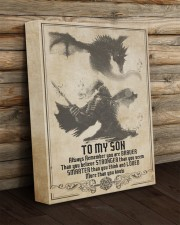 To My Son - Gift For Son Roll For Initiative 11x14 Gallery Wrapped Canvas Prints aos-canvas-pgw-11x14-lifestyle-front-19
