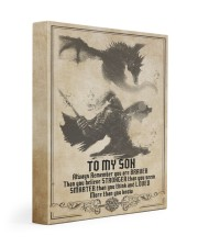 To My Son - Gift For Son Roll For Initiative 11x14 Gallery Wrapped Canvas Prints front