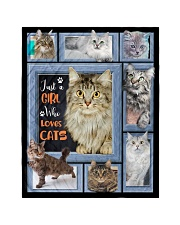 Just A Girl Who Loves Cats - Gift For Cat Lovers Quilt tile