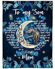 Gift For Son - To My Son Dinosaur Fleece Blanket tile