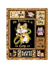 "My Patronus Is A Corgi - Gift For Corgi Lovers Quilt 40""x50"" - Baby thumbnail"