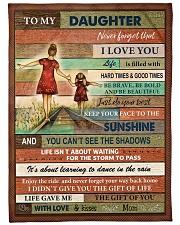 Gift For Daughter - To My Daughter Fleece Blanket tile