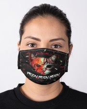 Ch Ch Ch Moew Moew Moew Cloth Face Mask - 3 Pack aos-face-mask-lifestyle-01