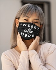 Insert Coffee Here Cloth Face Mask - 3 Pack aos-face-mask-lifestyle-17