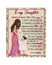 """Gift For Daughter - To My Daughter Quilt 40""""x50"""" - Baby thumbnail"""
