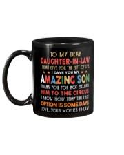 Daughter In Law Gift Custom Mug back