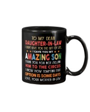 Daughter In Law Gift Custom Mug front