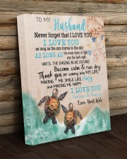Gift For Husband - To My Husband Turtle 16x20 Gallery Wrapped Canvas Prints aos-canvas-pgw-16x20-lifestyle-front-19