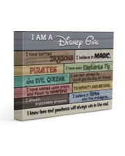 I Am A Girl - I Have Battled Dragons 14x11 Gallery Wrapped Canvas Prints front