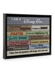 I Am A Girl - I Have Battled Dragons 14x11 Black Floating Framed Canvas Prints thumbnail