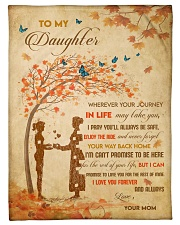 """Gift For Daughter - To My Daughter Tree Love Small Fleece Blanket - 30"""" x 40"""" front"""