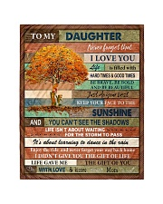 """Gift For Daughter - To My Daughter Tree Quilt 40""""x50"""" - Baby thumbnail"""