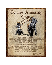 """Gift For Son - To My Son Biker Quilt 40""""x50"""" - Baby thumbnail"""