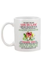 Son In Law Gift Custom Mug back