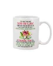 Son In Law Gift Custom Mug front