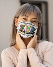 Dogs Make Me Happy Humans Make My Head Hurt Cloth Face Mask - 3 Pack aos-face-mask-lifestyle-17