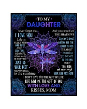 """Gift For Daughter - To My Daughter Dragonfly Quilt 40""""x50"""" - Baby thumbnail"""