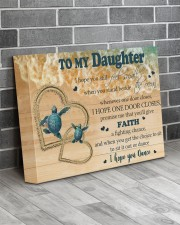 Gift For Daughter - To My Daughter Turtle 14x11 Gallery Wrapped Canvas Prints aos-canvas-pgw-14x11-lifestyle-front-12