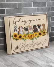 God Say You Are - Gift For Dog Lovers 14x11 Gallery Wrapped Canvas Prints aos-canvas-pgw-14x11-lifestyle-front-12