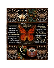 """Gift For Daughter - To My Daughter Butterfly Quilt 40""""x50"""" - Baby thumbnail"""