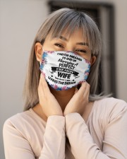 I Never Dreamed I'd End Up Perfect Freakin Wife Cloth Face Mask - 3 Pack aos-face-mask-lifestyle-17