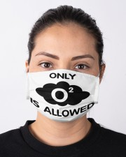 Only O2 Allowed Cloth Face Mask - 3 Pack aos-face-mask-lifestyle-01