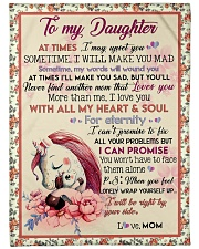 Gift For Daughter - To My Daughter Unicorn Fleece Blanket tile