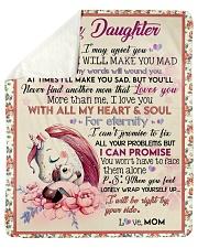 Gift For Daughter - To My Daughter Unicorn Sherpa Fleece Blanket tile