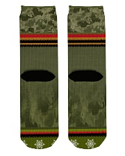 LIMITED EDITION - IRAQ VETERAN Crew Length Socks back