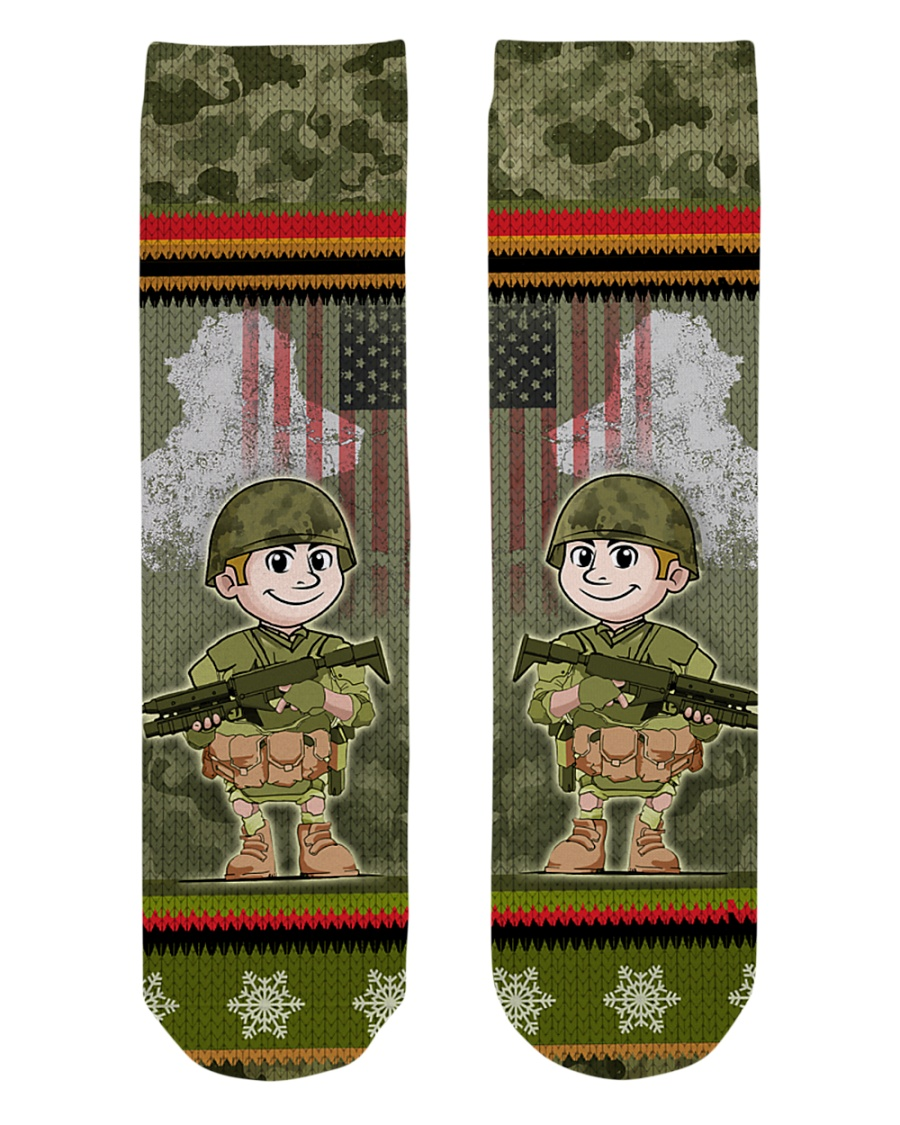 LIMITED EDITION - IRAQ VETERAN Crew Length Socks