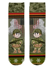 LIMITED EDITION - IRAQ VETERAN Crew Length Socks front