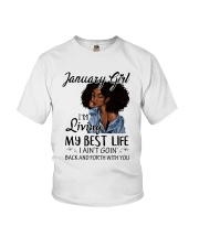 January Queen Youth T-Shirt thumbnail