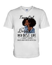 Texas Girl V-Neck T-Shirt thumbnail