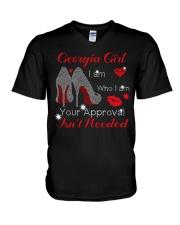 Georgia Girl V-Neck T-Shirt thumbnail