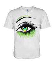 Choose kind V-Neck T-Shirt thumbnail