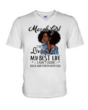 Best Life V-Neck T-Shirt thumbnail