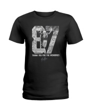 Thank you for the memories Ladies T-Shirt thumbnail