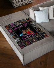 """Limited Edition Small Fleece Blanket - 30"""" x 40"""" aos-coral-fleece-blanket-30x40-lifestyle-front-03"""