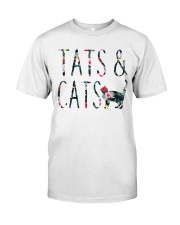 Tats and Cats Classic T-Shirt front