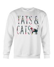 Tats and Cats Crewneck Sweatshirt thumbnail